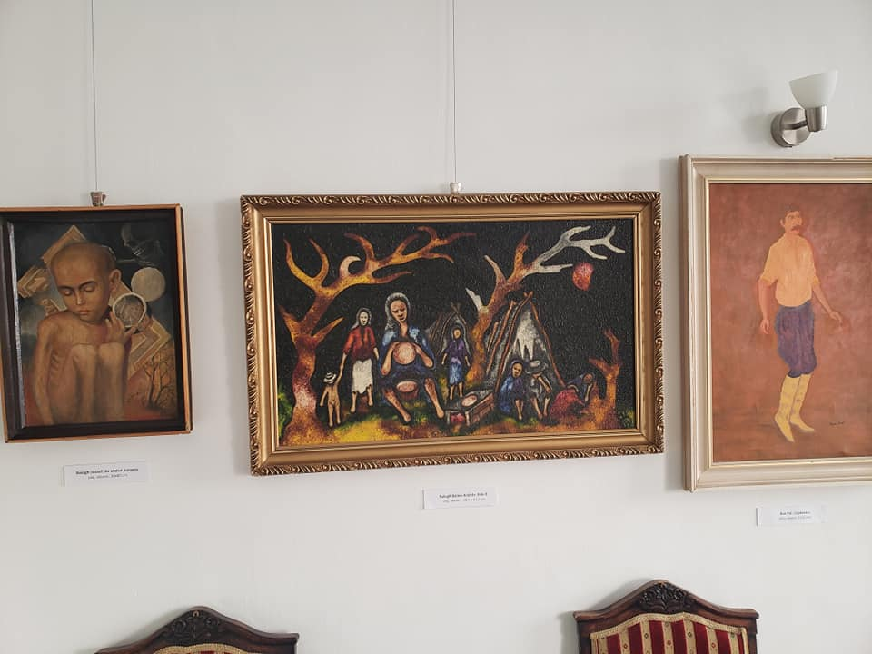 Balázs János Galéria Roma Parlament Roma Polgárjogi Egyesület 1
