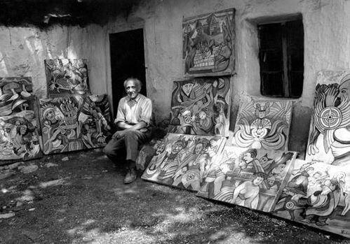 Balázs János Galéria Roma Polgárjogi Mozgalom MRPE kép a festőről