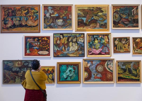 Balázs János Galéria Roma Polgárjogi Mozgalom MRPE képgaléria 1.