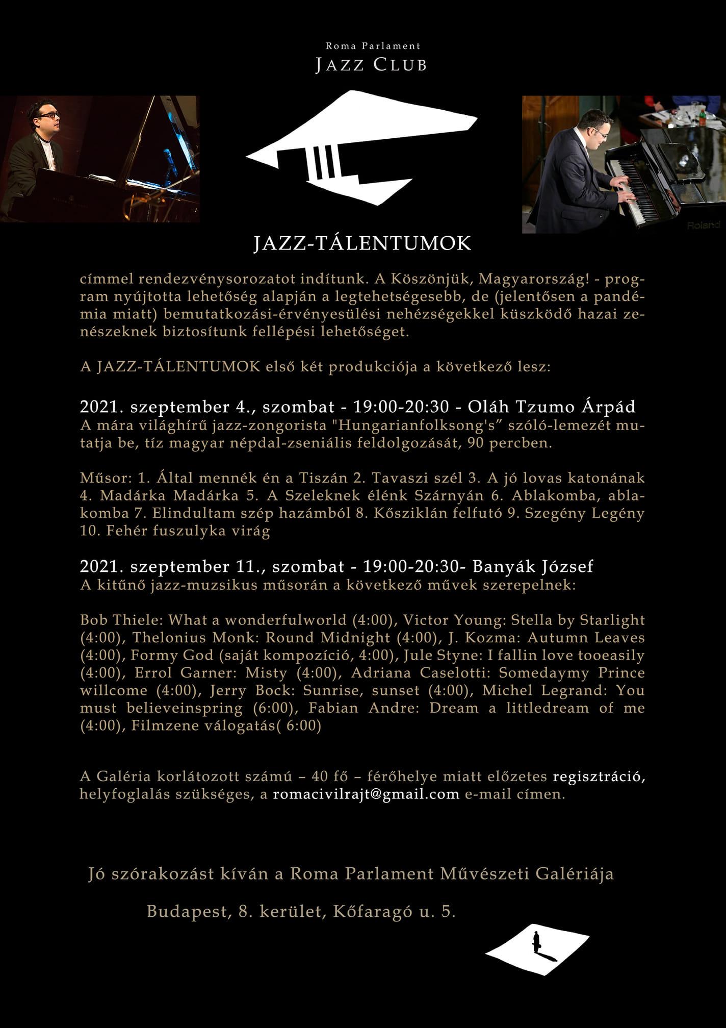 Roma Parlament művészeti galéria eseménye 1